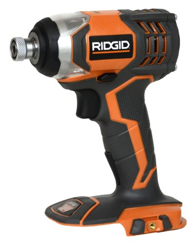 RIDGID R86034 18-Volt X4 Impact Driver (Bare Tool - No Batteries, Charger or Case) by Ridgid