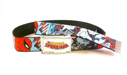 The Amazing Spider-Man Action Comic Book Web Belt