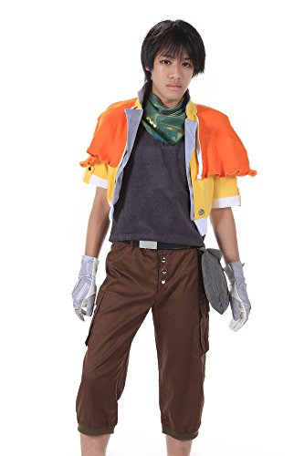 [SDWKIT Final Fantasy XIII Cosplay Costume Hope Estheim Outfit 1st Ver Set XL] (Final Fantasy Comic Con Costumes)