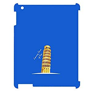 Skin4gadgets Iconic Wonder Leaning Tower of Pisa Colour - Blue Tablet Designer CASE for IPAD 3