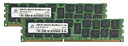 Adamanta 32GB (2x16GB) Server Memory Upgrade for Dell PowerEdge R610 DDR3 1333Mhz PC3-10600 ECC Registered 2Rx4 CL9 1.35v