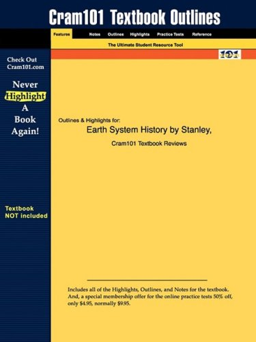 Studyguide for Earth System History by Stanley, ISBN 9780716739074