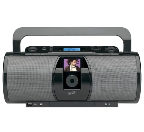 Buy Black iLive Portable Music System with iPod Dock
