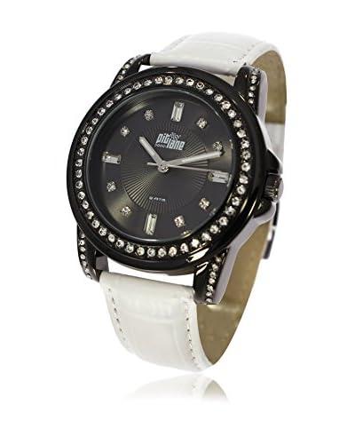 Pit Lane Reloj con movimiento Miyota Pl-4003-2 Blanco 36 mm