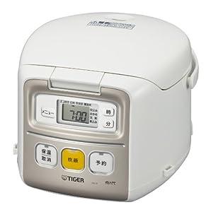 TIGER 小容量マイコン炊飯ジャー JAI-R550-W 3合 ホワイト JAI-R550-W