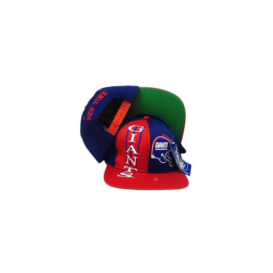 acbb76456 SNAPBACK HAT CAP NFL NEW YORK GIANTS OLD SCHOOL VINTAGE DEADSTOCK ...