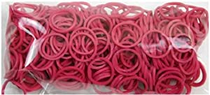 Twistz Bandz Rubber Band Refill + C-clips - Fuschia