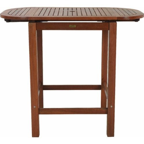 Outdoor Interiors 65544 The 2-4-6 Pub Table Folds for More Seating