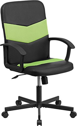 flash-furniture-mid-back-black-vinyl-task-chair-with-green-mesh-inserts