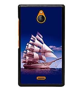 printtech Ship Water Sea Back Case Cover for Nokia X2 Dual SIM