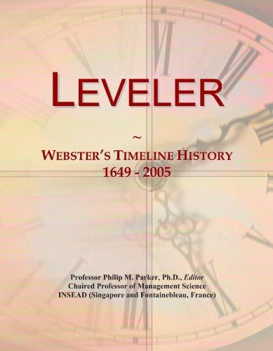 leveler-websters-timeline-history-1649-2005