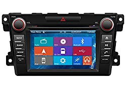 See Crusade Car DVD Player for Mazda Cx-7 2007- Support 3g,1080p,iphone 6s/5s,external Mic,usb/sd/gps/fm/am Radio 7 Inch Hd Touch Screen Stereo Navigation System+ Reverse Car Rear Camara + Free Map Details