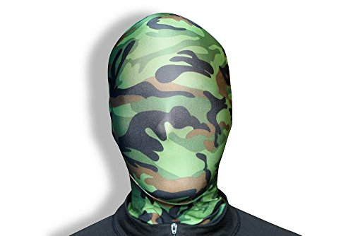Morphsuits Morphmask Premium Camouflage, Green/Brown/Black, One Size - 1
