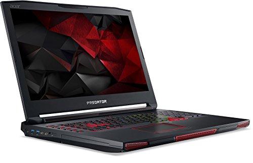 Acer NH.Q13EV.001 Predator 17X GX-791-74YL 44 cm (17,3 Zoll) Notebook (i7-6820HK, 64GB DDR4, 2TB/3x512GB SSD, NVIDIA GF GTX 980M, Win 10) schwarz