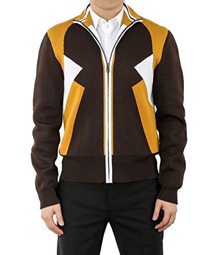 wiberlux-neil-barrett-mens-color-blocked-zip-up-knit-jacket-l-brown