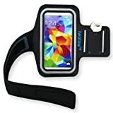 Samsung Galaxy S5 Armband, Iwotou Protective Gym Running Jogging Sport Armband Case for Samsung Galaxy S5 G900