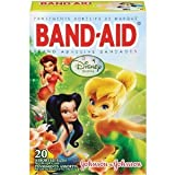 Johnson & Johnson Band-Aid Disney Faries Assorted 20-Count (Pack of 6)