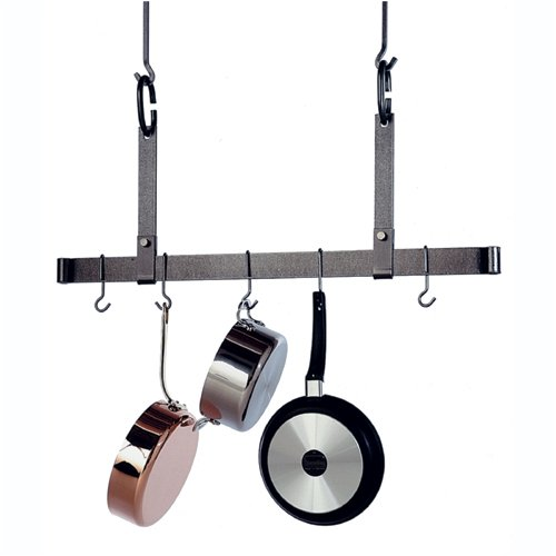 Cheap 54″ Hanging Hammered Steel Pot Rack Bar by Enclume (B000RA0V0M)