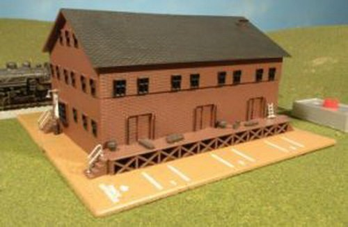 Bachmann Trains Steam Whistle In Freight Station front-352045