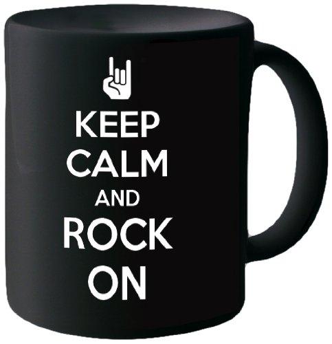 Posterboy 'Keep Calm Rock On' Creamic Mug