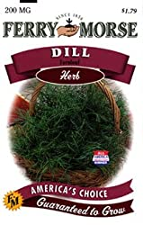 Ferry-Morse Herb Seeds 1628 Dill - Fernleaf 200 Milligram Packet