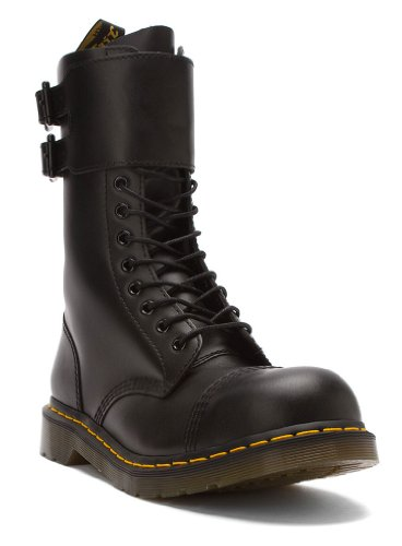 uk store entire collection good service Dr. Martens Men's Black Caden Buckle Lace Boot 12 F(M) UK ...