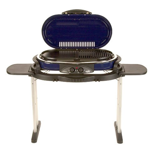 Coleman road trip grill lx blue from