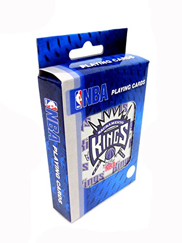 NBA Basketball Sacramento Kings Playing Cards