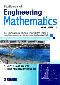 Textbook of Engineering Mathematics: WBUT Vol. 1