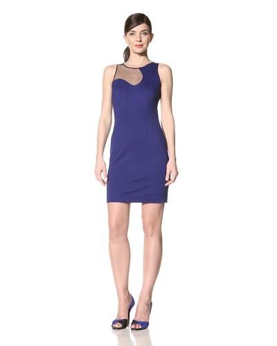 Cynthia Steffe Women's Sloan Ponte Dress with Mesh Detail