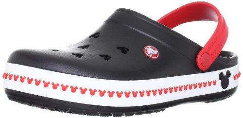 [クロックス] Crocs Crocband Mickey Clog 3.0 14608-063-176 ブラック/レッド(Black/Red/M6/W8)