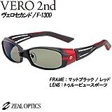 zeal(ジール) VERO 2nd ヴェロセカンド F-1300 マットブラック/レッド TVS