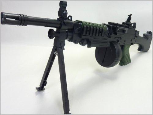 CrossFire◇ミニミM249軽機関銃タイプ6mmBB弾エアガン P269D