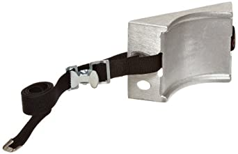 "Talboys 715 Aluminum Cylinder Wall Bracket with Strap, 1.875"" Length x 8.125"" Width x 4.625"" Height"