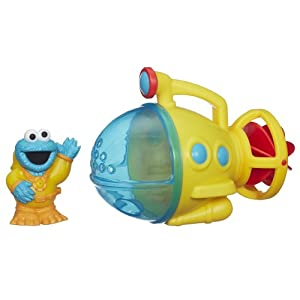 Sesame Street Cookie Monster Bath Submarine Toy