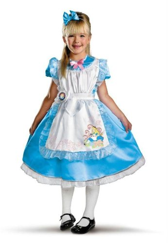 Costumes For All Occasions Dg11384K Alice Deluxe Child 7-8