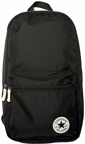 Converse zaino All Star Core, Unisex, Zaino, Rucksack Core Poly Backpack, nero, 48 x 38 x 15 cm, 25 Liter