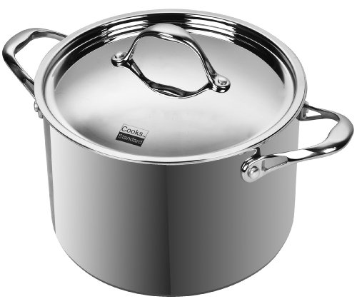 Cooks Standard Multi-Ply Clad Stainless-Steel 8-Quart Covered Stockpot