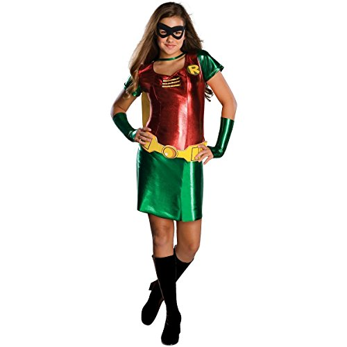 Wmu - Batman's Robin Tween Girl Costume- Medium