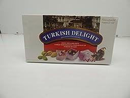 Hacizade Turkish Delight Finest Pistachio Nuts Cooked w Pomegranate, 13.22 oz
