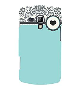 Floral Love Green Cute Fashion 3D Hard Polycarbonate Designer Back Case Cover for Samsung Galaxy S Duos S7562