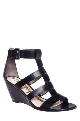 Sabrina High Wedge Ankle Strap Gladiator Sandal