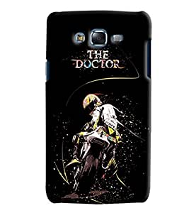 Blue Throat The Doctor On Bike Printed Designer Back Cover/ Case For Samsung Galaxy J5 2016