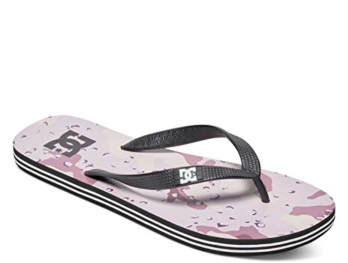 DC Men's Spray Graffik Three Point Sandal, Desert Camo, 11 M US