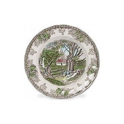 Johnson Brothers Friendly Village 8.5-Inch Rim Soup/Pasta Plate