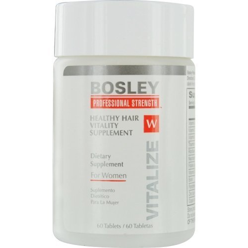 Bosley Healthy Hair Vitality Supplement For Women, 60 Count