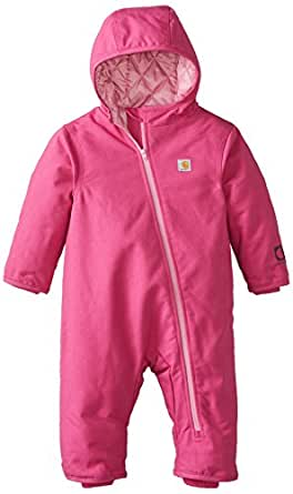 Amazon.com: Carhartt Baby Girls' Quick Duck Snowsuit: Clothing