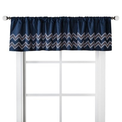 "Castle Hill 60"" x 14"" Nursery Window Valance (Choice of Styles) (Ollie)"