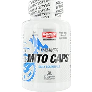 Hammer Nutrition Mito Capsules- Anti-Aging Formula- Dietary Supplement