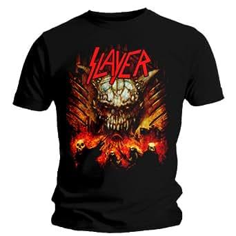 Collectors Mine Herren T-Shirt Slayer - Apocalypse, Gr. 46 (S), Schwarz (Schwarz)